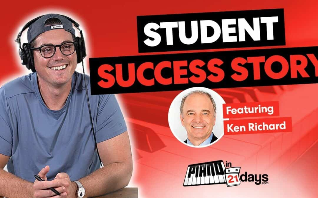 Meet Ken Richard (from Beginner to Releasing Piano Albums)