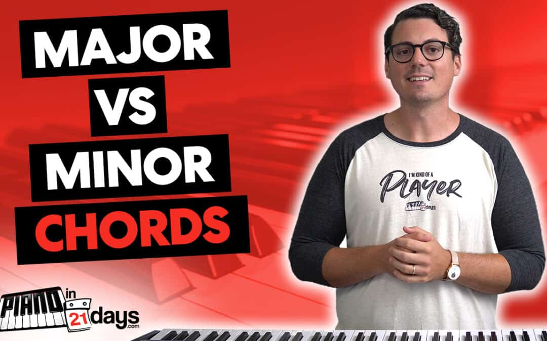 The Difference between MAJOR and MINOR Chords