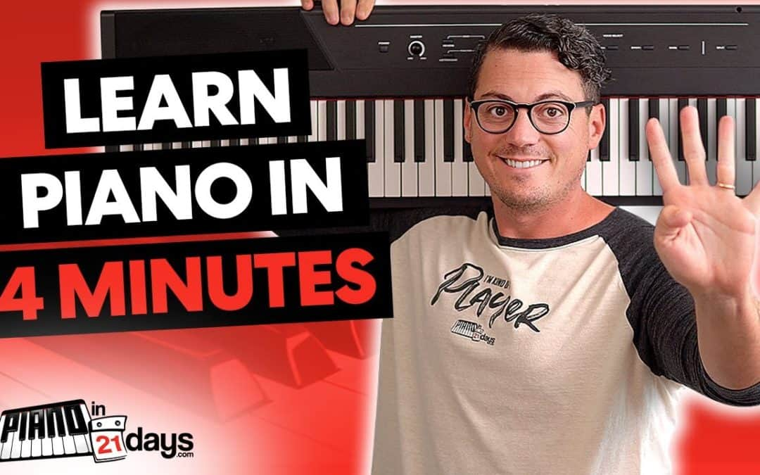 Learn Piano In 4 Minutes (2021 Update)