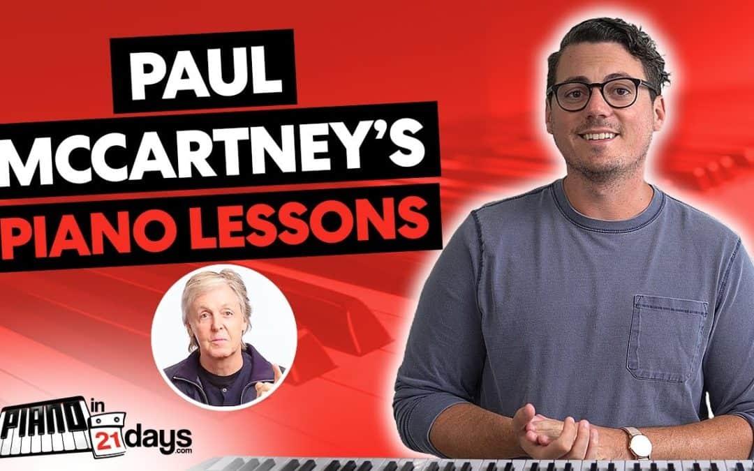 Did Paul McCartney use Piano In 21 Days???
