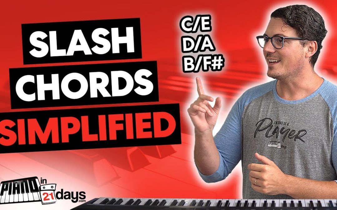 Slash Chords on the Piano, Simplified!